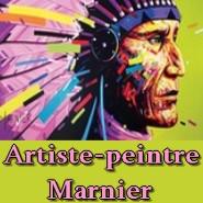 Manier Artiste peintre